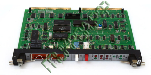 Модуль процессорный и сигнализации ПРЦ7 - вид сверху